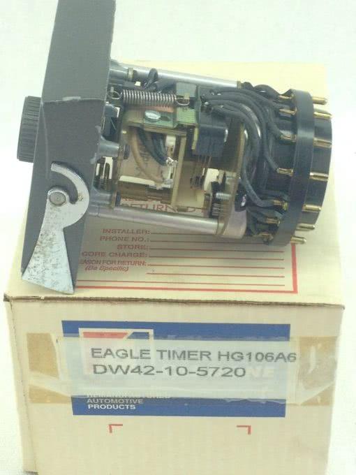 USED, GOOD G W EAGLE SIGNAL HG106A6 Cycl-Flex ELECTRIC TIMER (B133) 3