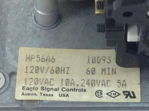 USED, GOOD G W EAGLE SIGNAL HG106A6 Cycl-Flex ELECTRIC TIMER (B133) 4