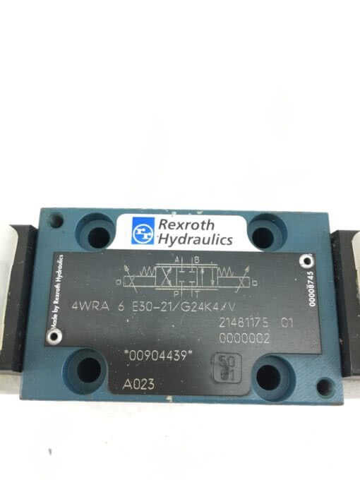NEW REXROTH 4WRA 6 E30-21/G24K4/V Proportional Directional Valve, FAST SHIP! SB7 2