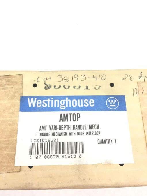 FACTORY SEALED Westinghouse AMTOP AMT Variable Depth Handle Mechanism (B379) 2