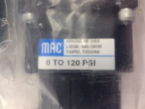 NEW! MAC 252B-111CC VALVE COMBINATION ASSEMBLY FAST SHIP!!! (B82) 2