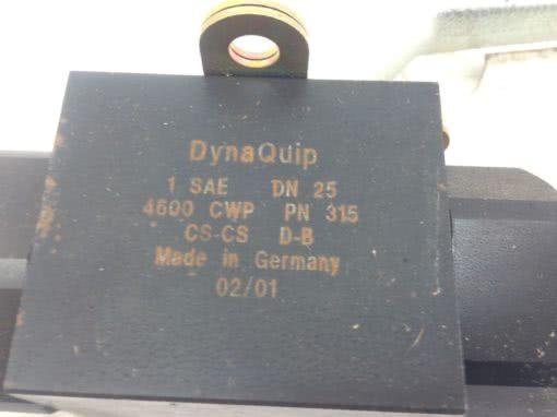 NEW! DYNAQUIP BALL VALVE # 4600CWP PN 315 FAST SHIP!!! (B82) 2