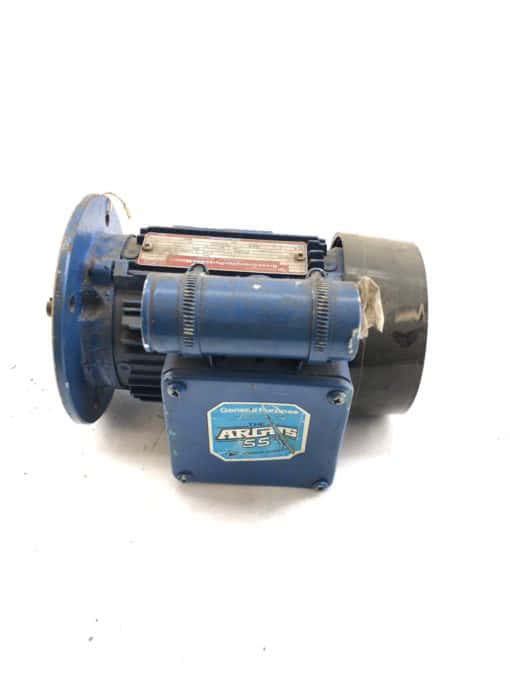 BROOK CROMPTON PARKINSON ELECTRIC AC MOTOR AED71D H986117 SINGLE PHASE (B431) 1