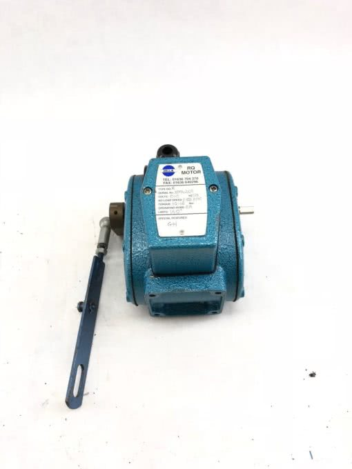 USED ZELLA RQR MOTOR RANGE W/ LEVER 240VAC 50HZ 2A 32 RPM DOWN TO 60 MPR, (B431) 1