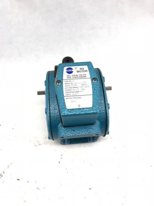 USED ZELLA RQR MOTOR RANGE NO LEVER 240VAC 50HZ 2A 32 RPM DOWN TO 60 MPR, (B431) 1