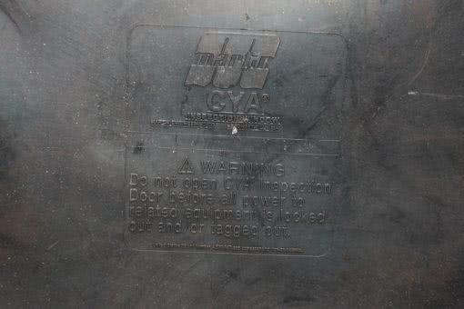 """MARTIN ENGINEERING 19 1/2″ X 25"""" CYA INSPECTION WINDOW/DOOR! FAST SHIP! (B135) 2"""