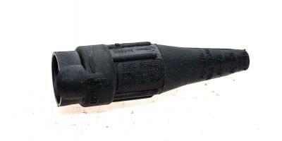 CROUSE-HINDS COOPER E1012-8350 #2 -2/0 CABLE MALE PLUG BLACK! BOX OF 9! (B136) 1
