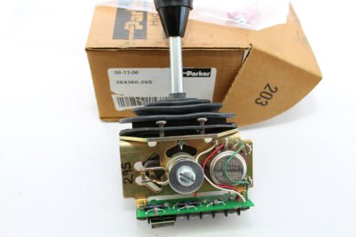 FAST SHIP! Parker Hydraulics 264360-29S Joystick Controller NEW in BOX (J23) 1