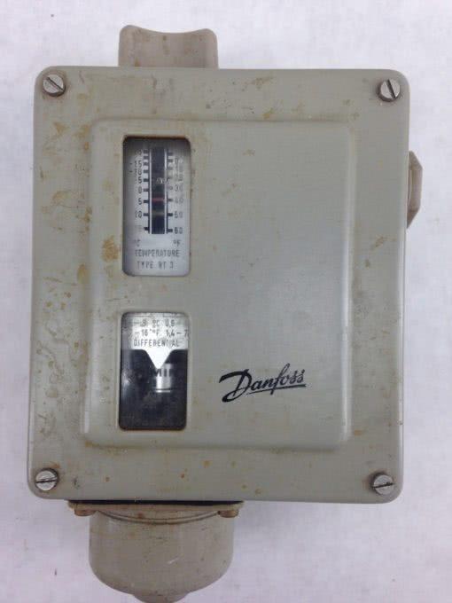 DANFOSS RT3 017-5014 THERMOSTAT -25 C TO + 15 C (B407) 2