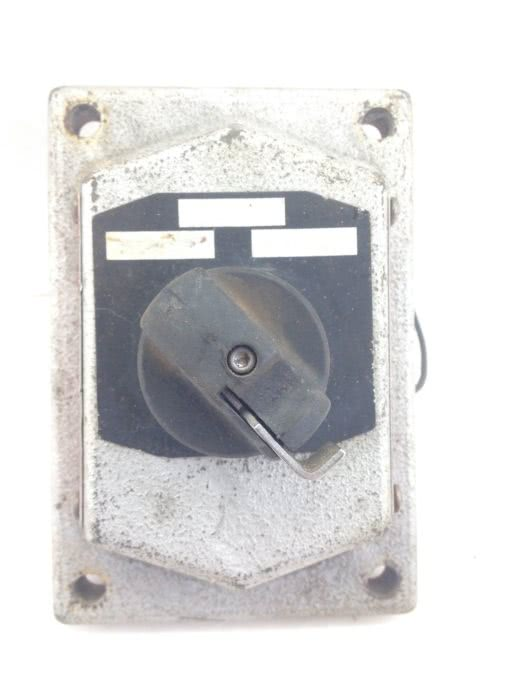 COOPER CROUSE-HINDS EDS21275, 0205871-3 HD SWITCH, HAZARDOUS LOCATION FACE(A321) 3