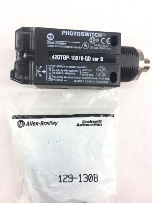 Allen Bradley 42GTGP-10000-QD Photoelectric Sensor Switch NIB (B56) 2