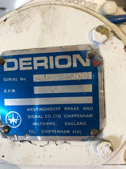 WESTINGHOUSE DERION GS175 11409 BLOWING SEAL BLOW THROUGH VALVE 12 RPM (NP11) 2
