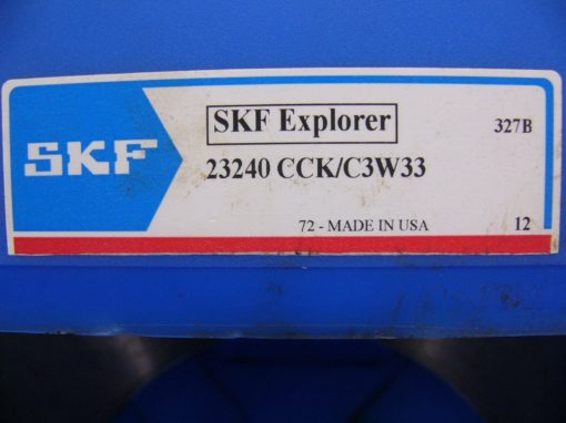 NEW! SKF Explorer 23240 CCK/C3W33 Double Row Spherical Roller Bearing C3 W33 6
