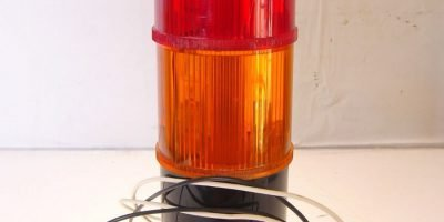 GE GENERAL ELECTRIC LIGHT TOWER SLR2BGK20A RED, AMBER NEW!!! (B186) 1