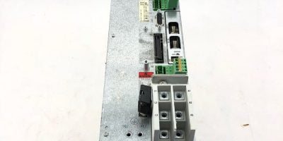 REPAIRED REXROTH DKC02 3-100-7-FW INDRAMAT SERVO CONTROLLER, MISSING FRONT COVER 1