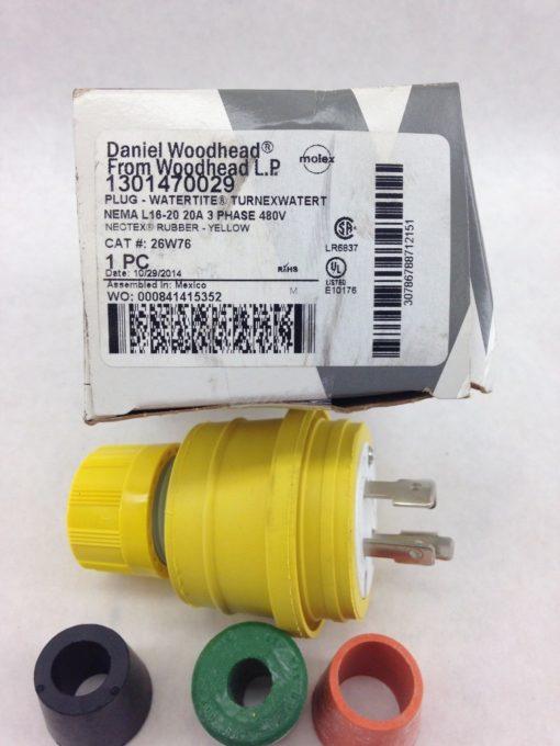 DANIEL WOODHEAD PLUG WATERTITE TURNEXWATERT RUBBER PLUG 1301470029 (B450) 2