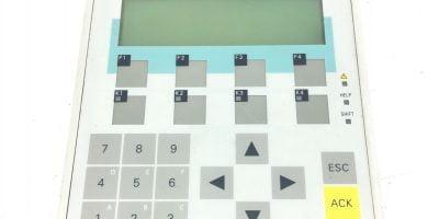 NEW Siemens 6AV3607-1JC00-0AX1 6AV3 607-1JC00-0AX1 OP7/PP Operator Panel, (B378) 1