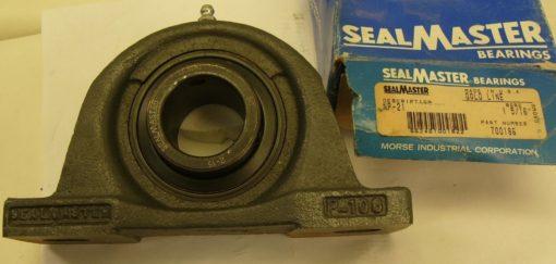 SEALMASTER GOLD LINE NP-21 1-5/16 2-BOLT PILLOW BLOCK BEARING 700186 NEW (F86) 2