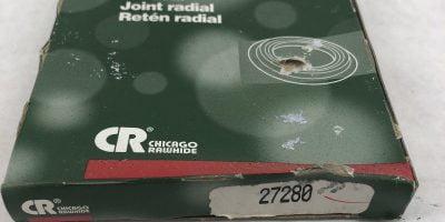 CR CHICAGO RAWHIDE 27280 RADIAL SHAFT OIL SEAL (F111) 1