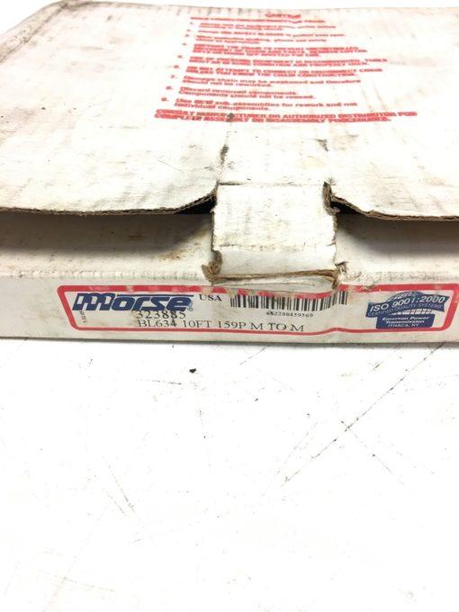 NEW IN BOX Morse BL634 323885 159P M TO M Precision Leaf Chain, 10 FEET, (B288) 2