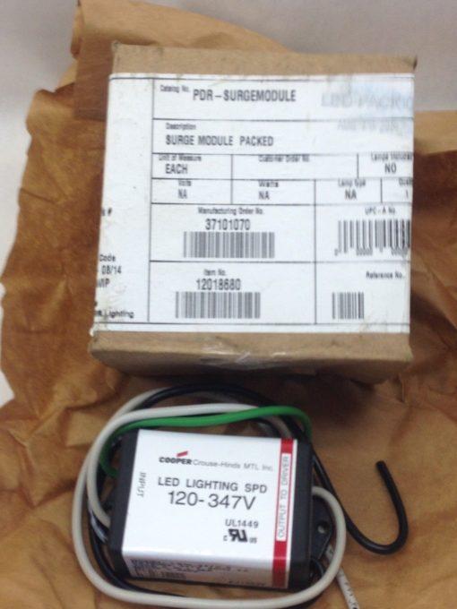 COOPER CROUSE-HINDS 120-347V LED LIGHTING SPD SURGE MODULE LS10-347V-S (H20) 1