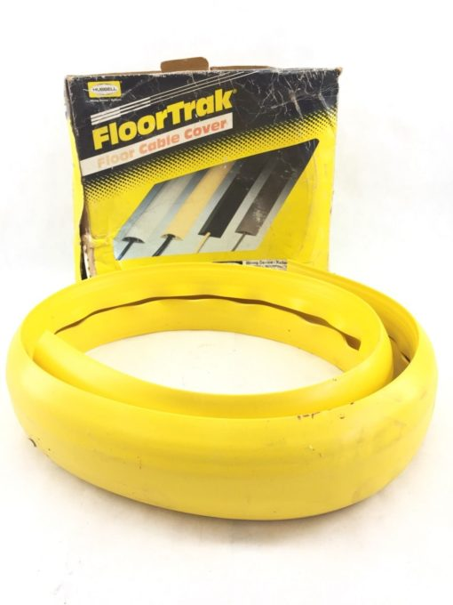 HUBBELL FLOORTRAK 5 FEET YELLOW CABLE COVER (B401) 1