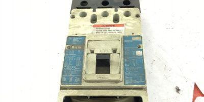 USED Eaton Cutler Hammer KD 35K KD3400F 400A Circuit Breaker, 600 VAC, (B329) 1