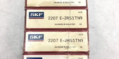 SKF 2207 E-2RS1TN9 SKF DOUBLE ROLLER SELF ALIGNING BEARING PACK OF 5 (B451) 1