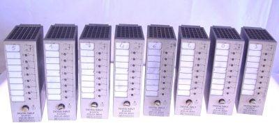 USED SIEMENS DIGITAL INPUT 8x24V DC 6ES5 431-8MA11 LOT OF 8 USED CONDITION (G56) 1