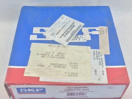 SKF EXPLORER 23034 CCK W33 SPHERICAL ROLLER BEARING (B456) 2