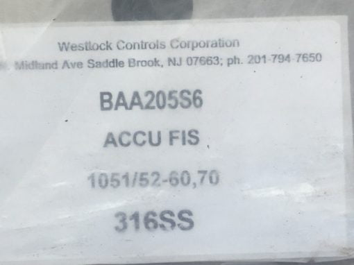 WESTLOCK CORP BAA205 GENERAL POSITION SWITCH MOUNTING BRACKET (B456) 3
