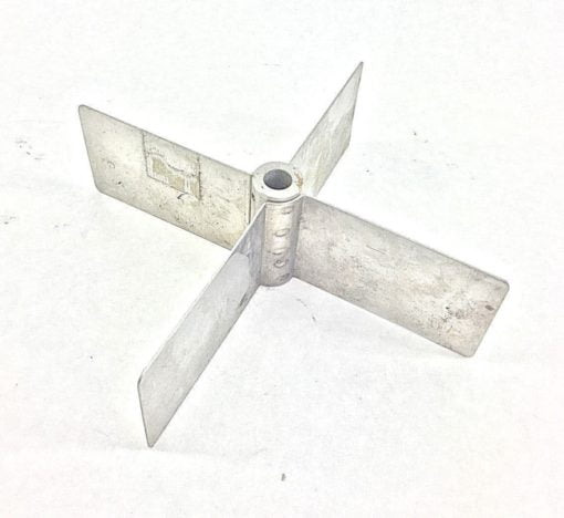 NEW, NO BOX! BINDICATOR PADDLE 4-VANE OPEN IMPELLER 7-1/16″X2″ 3/8″BORE(B286) 2