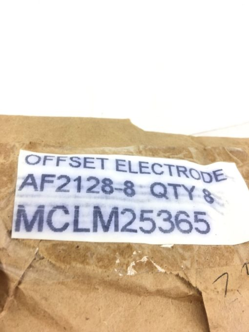 NEW LOT OF 8 AF2128-8 OFFSET ELECTRODES, FAST SHIPPING! (A124) 2