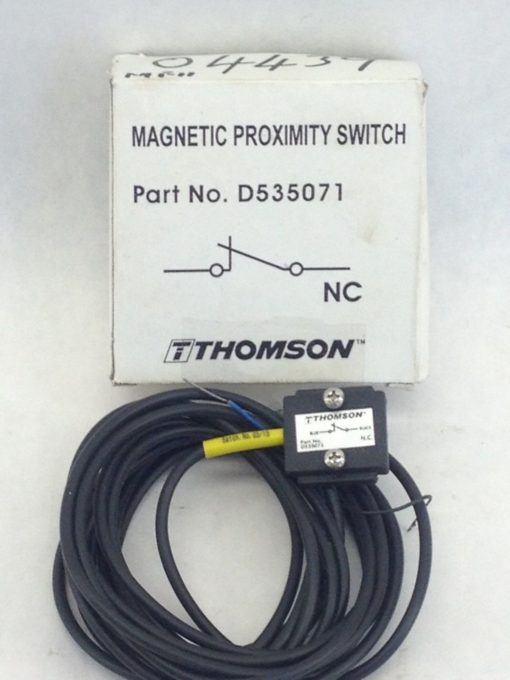 THOMSON D535071 MAGNETIC PROXIMITY SWITCH NC (A767) 1