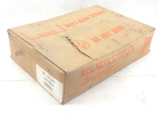 NEW! ROLL-RITE ROLL-FEED PNEUMATIC STAPLES RR1-3/4 24M 16115054 (B252) 1