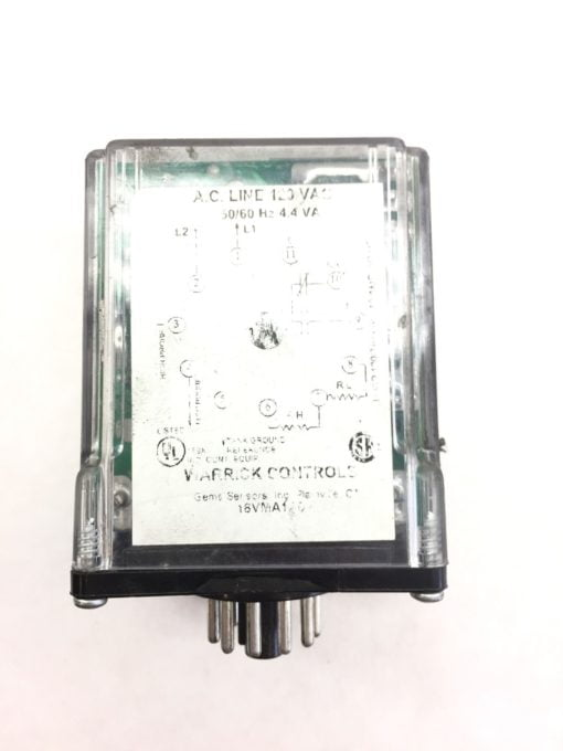 WARRICK CONTROLS 16VMA1A0 RELAY USED IN GOOD SHAPE (A442) 2