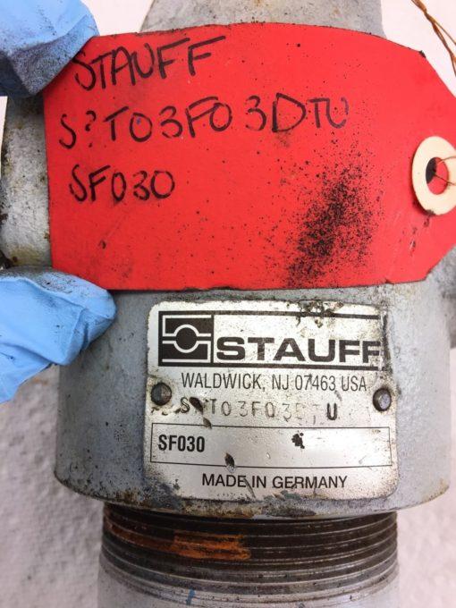 USED STAUFF HIGH PRESSURE FILTER SF030 T03F03DTU, FAST SHIPPING! (HP PT) 2