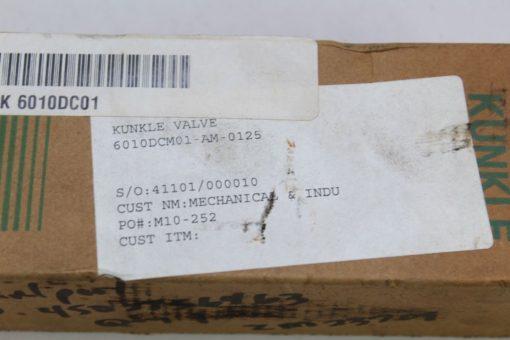Knuckle Valve 6010DCM01-AM Relief Valve *NEW* (F227) 2