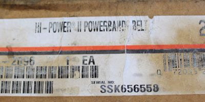 FAST SHIP! GATES HI-POWER II POWERBAND 4/B173 9093-4173 NEW (BELT 12M) 1