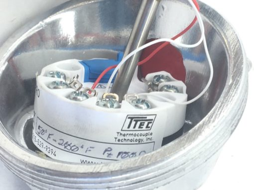 THERMOCOUPLE TECHNOLOGY TTEC 420PRO THERMOCOUPLE PT100 50°F to 200°F (H20) 5