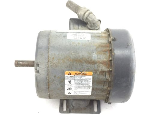 DAYTON INDUSTRIAL MOTOR # 2N864M HP 1/3 RPM 1725/1425 VOLT 208-220/440 (B55) 5