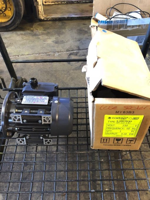 NEW TEC ECHTOP 0.1841TPCB3 ELECTRIC MOTOR MY 632-4, 230V, 0