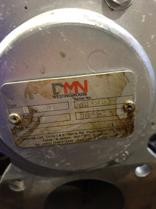 USED DMN WESTINGHOUSE BL 200 HIGH DUTY BLOWING SEAL ROTARY VALVE (UKP2) 2