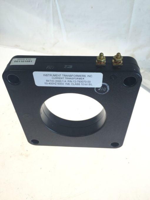 NEW Instrument Transformers Current Transformer Ratio 2000:1 50-400Hz 600V B158 1