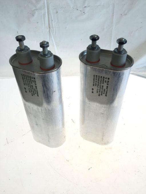 NEW (lot of 2) Ronken 13 uF 1000V Capacitor 86C81136K50 12-749319-10H, (B158) 1