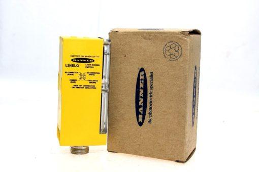 BANNER LS4ELQ 38429 LIGHT SCREEN RECEIVER RANGE: 0.46-2