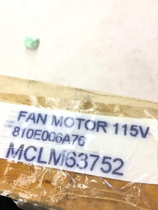 NEW Tecumseh 810E006A76 Condenser Fan Motor 115V 6W, FAST SHIPPING! (B114) 2
