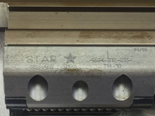 NNB! STAR 1604-212-213-214-10 LINEAR MOTION CARRIAGE BELT FAST SHIP!!! (H248) 4