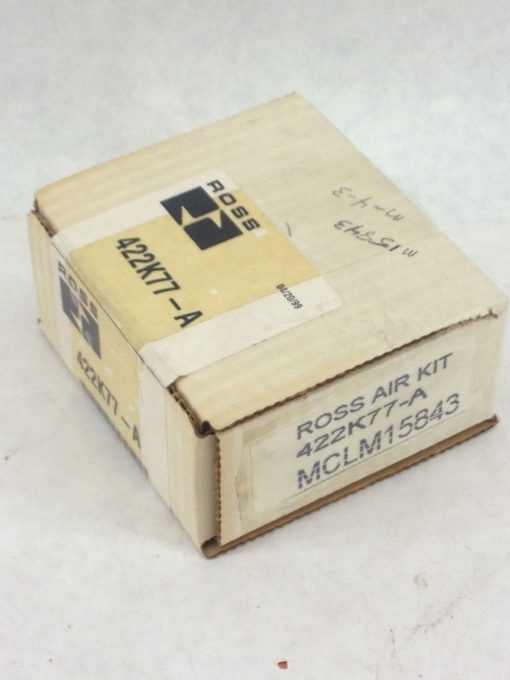 NEW, FACTORY-SEALED! ROSS 422K77-A SERVICE KIT E-P MONITOR RESET (H134) 1