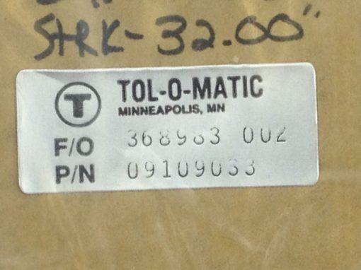 "NIB! TOL-O-MATIC 09109033 1"" BAND CYL REPAIR KIT 368983-002 STRK-32"